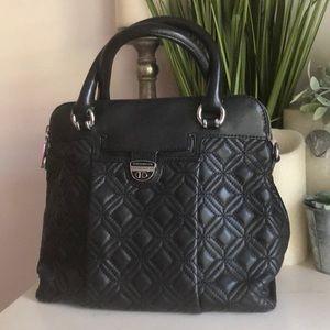Karen Millen Quilted Leather Handbag.